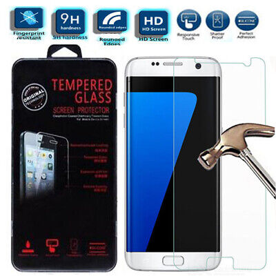 $ CDN5.09 • Buy NEW HD 9H Tempered Screen Saver Protector For Samsung Galaxy S7 SM-G930F G930F