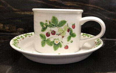 £10 • Buy Portmeirion Summer Strawberries Cup And Saucer Good Condition