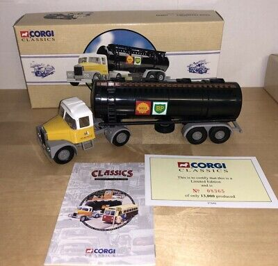 Corgi Classics 97840 Scammell Highwayman Tanker Shell Mex/BP Ltd Edition Boxed. • 14.99£