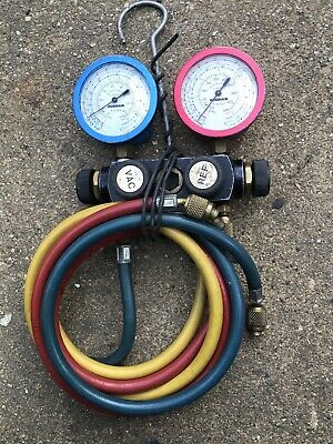 Refrigeration Charging Lines 1/4 X3 And Gauges • 60£