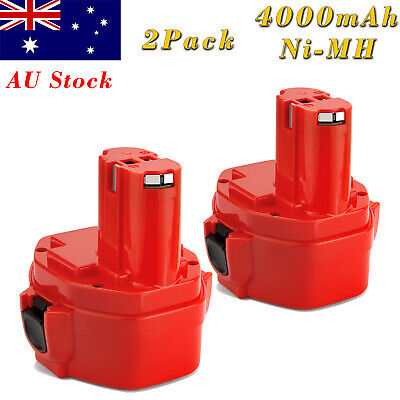 AU28.45 • Buy 2x 14.4V 3500mAh Ni-MH PA14 Battery For Makita 1420 1422 1433 1434 1435F 192699