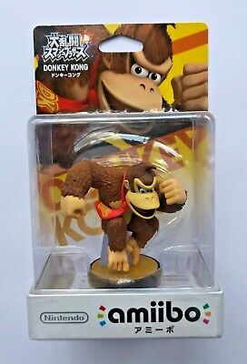 AU80 • Buy Nintendo Amiibo - Super Smash Bros - DONKEY KONG - Japanese - Boxed