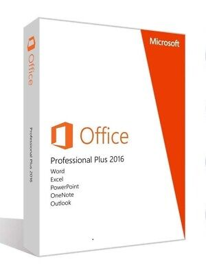 Microsoft Office Professional For Windows 10&7 Word, Excel, PowerPoint -Lifetime • 17.99£