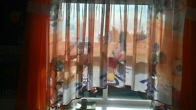 Curtain To The Children's Room - Mickey Mouse Football • 20£
