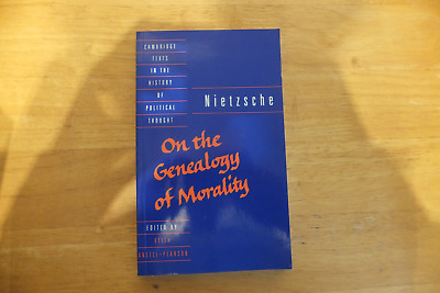 Friedrich Nietzsche-on The Genealogy Of Morality-cambridge Texts-1998-paperback • 7.99£