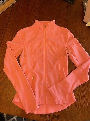 $ CDN35 • Buy EUC Lululemon Define Jacket ❤️Size 6❤️ Peach/coral-Luon Fabric