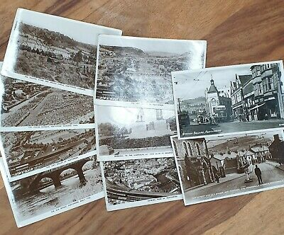 Postcards Photographic Pontypridd Black & White LG Railton Ltd & W&EC Watts • 0.99£