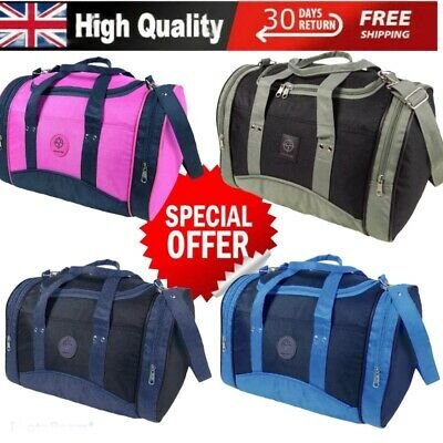 Mens Womens Lightweight Cabin Hand Luggage Travel Gym Sports Cargo Holdall Bag  • 11.95£