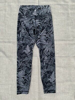 $ CDN61.34 • Buy Lululemon Wunder Under Hi-Rise Tight Sz 6 Nulux 28  Entwined Black Ice Gray