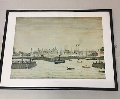 LS Lowry Print Of  The Harbour  • 9.99£