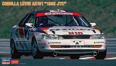 AU47.90 • Buy Hasegawa 20417 1/24 Scale Model Car Kit Team 5Zigen Corolla Levin AE101 JTC 1993