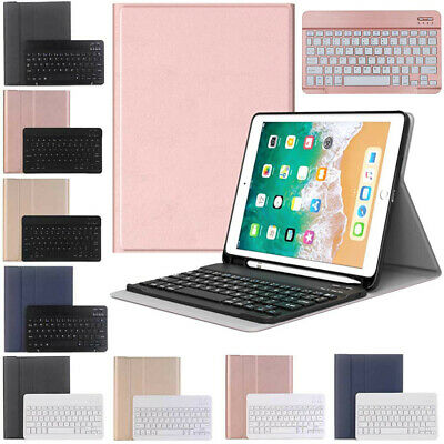 AU55.89 • Buy For IPad 7th 8th Gen 10.2 Pro Air 3 10.5 Bluetooth Keyboard Leather Case Cover