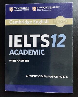 Cambridge IELTS 12 Academic Student's Book With Answers Without CD • 19.33£