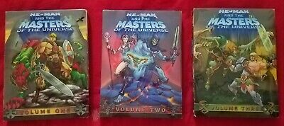 $14.50 • Buy He-Man And The Masters Of The Universe DVD Vol 1 2 3 (2002)