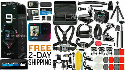 $ CDN629.11 • Buy NEW GoPro HERO 9 Black 5K Video +  ***Deluxe Accessories Mega Bundle***