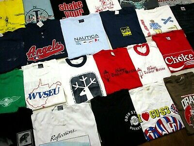 $ CDN52.07 • Buy 25 VINTAGE Lot T-SHIRT FADED 90s 80s Band Sports Travel Military Promo Various