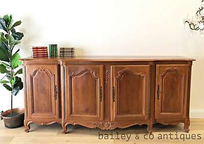 AU1685 • Buy French Vintage Enfilade Sideboard Buffet Louis XV Style Marquetry Top - TA015