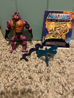 $45 • Buy Vintage Masters Of The Universe Tung Lashor PAINTED BACK VARIANT Complete 100%