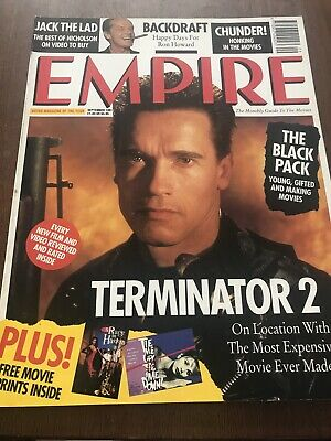 Empire 27 Arnold Schwarzenegger Jack Nicholson Ron Howard Billy Baldwin • 3.99£