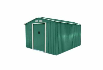 Bentley 8ft X 10ft Metal Garden Shed With Floor Foundation - Customer Returned • 4.99£