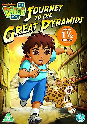 Go Diego Go  Journey To The Great Pyramids    (DVD)  New & Sealed   • 3.99£