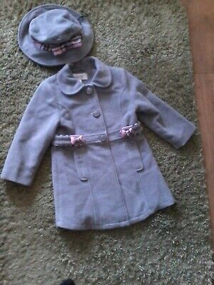 £27 • Buy Couche Tot Coat With Matching Hat 2-3 Years