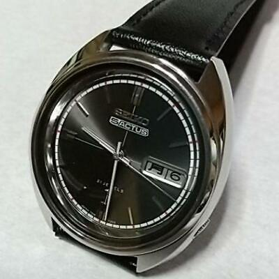 $ CDN236.01 • Buy SEIKO 5 ACTUS 7019-7070 21J Black Vintage Automatic OH Mens From Japan