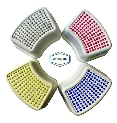 Booster Step Stool Non Anti Slip Toilet Potty Training Kids Children Bathroom Uk • 6.59£