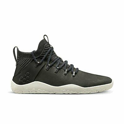 Vivobarefoot Magna Trail Leather & Wool Mens Obsidian • 202.73£