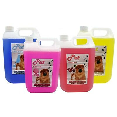 Pet Cattery Kennel Disinfectant Deodoriser Cleaner Animal Odour Pet GUARD 5L • 10.55£