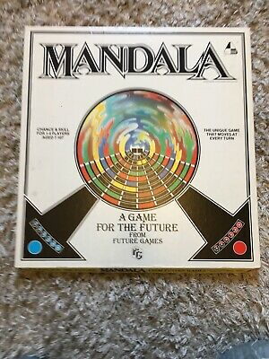 £10 • Buy Vintage MANDALA GAME FOR THE FUTURE From Future Games 1982 Design Centre London