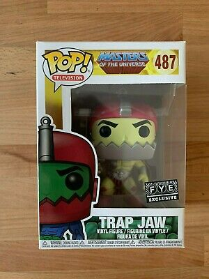 $15.95 • Buy Funko Pop TV Masters Of The Universe Trap Jaw #437 FYE Rare Vaulted W/ Protector