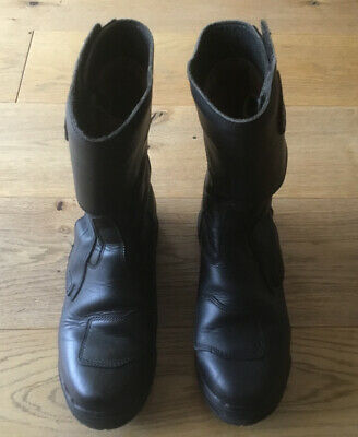 Genuine Altberg Motorcycle Boots Size 8(uk)/ Police / Footwear. Made In England • 50£