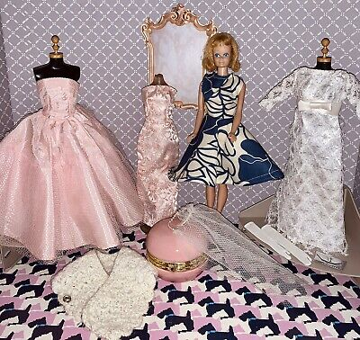 $ CDN203.34 • Buy Vintage Barbie Doll & Clothes With Accessories Lot