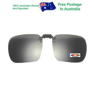 AU12.95 • Buy Mens Womens Vintage Fishing Glasses Clip On Flap Up Polarised Sunglasses CLY016