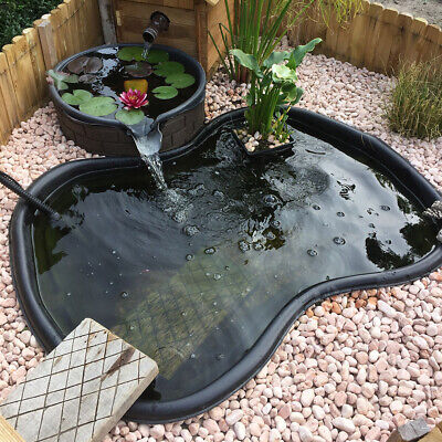 Pond Liner Garden HDPE Landscaping HDPE Pool Fish Water Membrane Outdoor • 26.95£