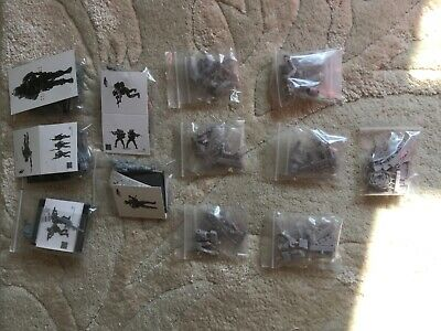 1/35 Scale Resin Figures Model Kits U.S. Sp/ Forces & Chopper Crew 1:35th • 36.99£
