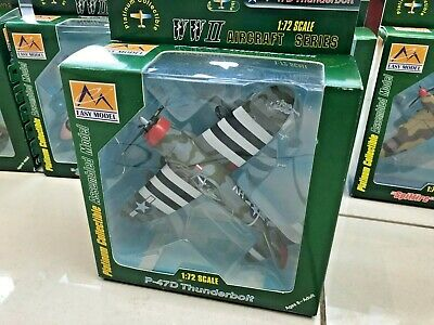 Easy Model 1:72 Scale P-47D Thunderbolt Model Aircraft Boxed • 15£