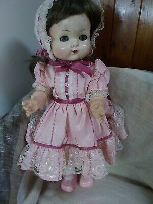 Vintage Roddy Walker Doll 21 Inches & Clothing 1950's  • 45£