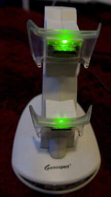 Xbox 360 Controller Charger Docking Station Seen Working Tested Gamexpert • 6.99£