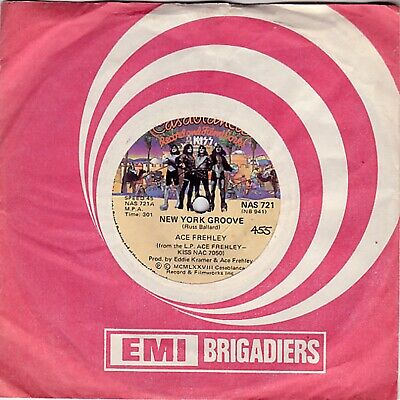 Kiss - Ace Frehley - New York Groove - South African 7  Single • 40£