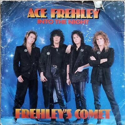 Kiss - Ace Frehley - Into The Night - British 7  Single • 2£