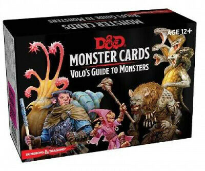 AU25.63 • Buy Dungeons & Dragons Spellbook Cards: Volo's Guide To Monsters (Monster Cards,