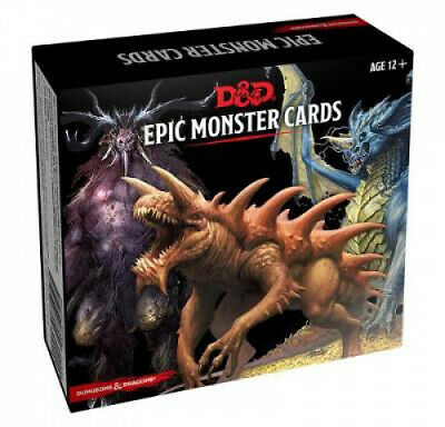 AU38.48 • Buy Dungeons & Dragons Spellbook Cards: Epic Monsters (D&d Accessory)