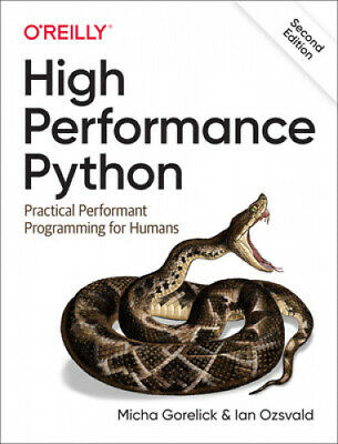 AU69.02 • Buy High Performance Python: Practical Performant Programming For Humans