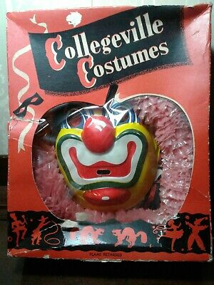 $ CDN25.30 • Buy Vintage Collegeville Costumes CIRCUS CLOWN #200 S Childs Small Halloween CIB