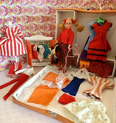 $ CDN46.67 • Buy Vintage Barbie Skipper Doll & Case With Clothes, Furniture Big Lot