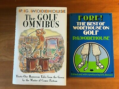 £8.72 • Buy P.G. Wodehouse Mixed Lot Of 2: Collection Of Golf Stories - HC/DJ TPB VGC