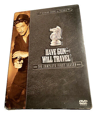 $10 • Buy Have Gun Will Travel - The Complete First Season (DVD, 2004, 6-Disc Set)