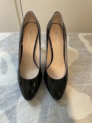AU25 • Buy Nine West AU7 1/2 Black Patent Leather Work Corporate Pumps